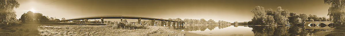 The Conococheague Aqueduct 360 Degree Panoramic Photograph