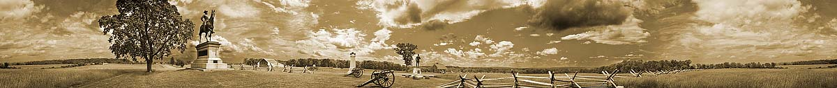 General John Reynolds Equestrian Monument On McPherson's Ridge | Gettysburg | James O. Phelps | 360 Degree Panoramic Photograph