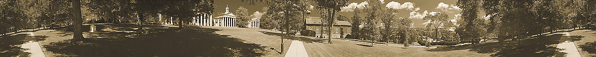 The Colonnade From The Lawn | Washington & Lee University | W&L | W and L | James O. Phelps | 360 Degree Panoramic Photograph